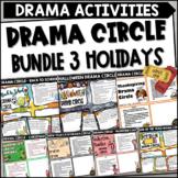 Drama Circle Activity Bundle Holidays
