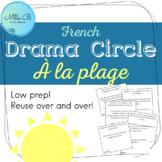 Cercle de drame : À la plage / Drama Circle (FR)