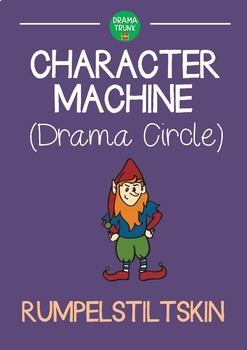 READER'S THEATRE Drama Circle Character Machine RUMPELSTILTSKIN