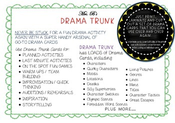 READER'S THEATER Drama Circle Character Machine THE UGLY STEPSISTERS