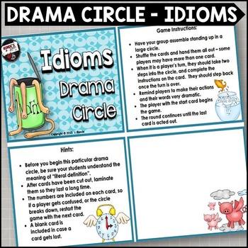 Idioms Drama Circle