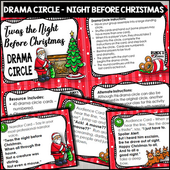 Drama Circle - Twas The Night Before Christmas