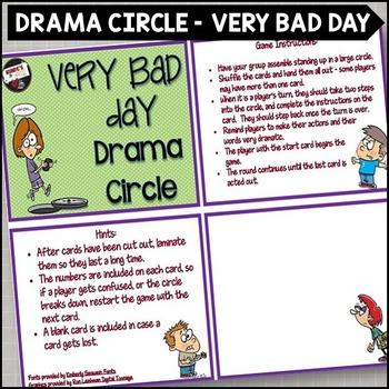Very Bad Day Drama Circle