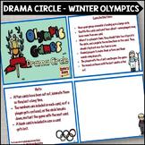 Winter Olympics Drama Circle
