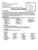 Drama Class Syllabus