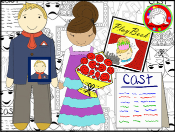Drama Club Clipart (Personal & Commercial Use)