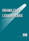 Drama lesson plans for setting up a drama club or youth theatre, starter pack