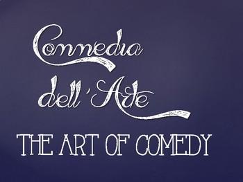 Drama Commedia Dell'Arte Powerpoint