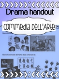 Drama - Commedia Dell'arte - Stock Characters