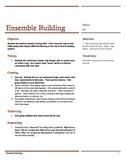 Drama: Cooperation, Ensemble Building