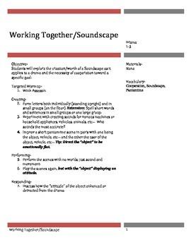 Drama: Cooperation & Soundscape Grades 1-5
