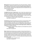 Drama Course Descriptions