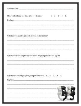 Drama Critiques: Performance Evaluations for Actors and Audience Members