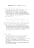 Drama Double Foundation Skills 1