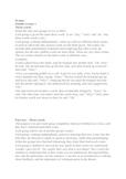 Drama Double lesson 3