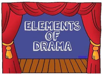 Drama Elements Powerpoint