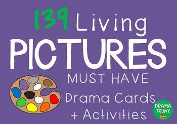 Drama / English Cards : LIVING PICTURES (Pantomime Drama G