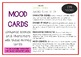 MOODS / EMOTIONS Drama / English Cards (with Drama Games + Activities)