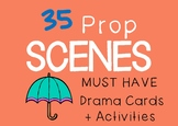 Role Play PROP SCENES : Drama / English Cards + Suggested