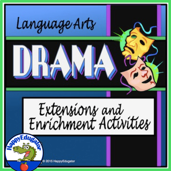 Drama Extension Activities PowerPoint