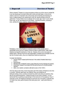 Stagecraft - Drama Extras 2 Radiant Heart Publishing