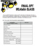 Drama - Final Major Project - CPT - Complete Package! 12 PAGES