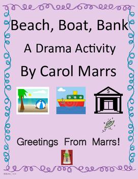 Drama Game-Beach Boat Bank
