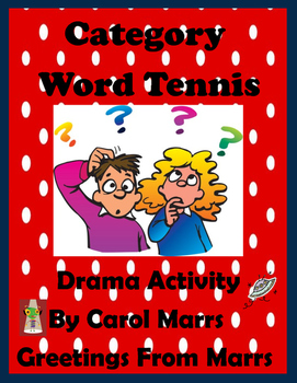 Drama Game-Category Word Tennis
