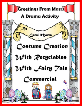 Drama Game-Costume Creation With Recyclables-With Fairy Ta