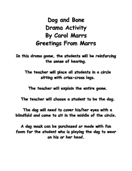 Drama Game-Dog and Bone
