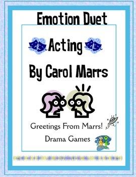 Drama Game - Emotion Duet Acting
