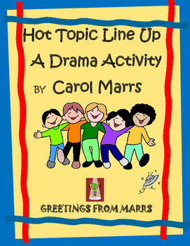 Drama Game-Hot Topic Line Up