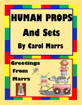 Drama Game-Human Props and Sets