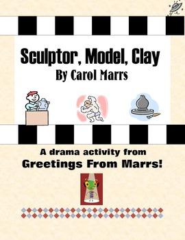 Drama Game - Sculptor, Model, Clay