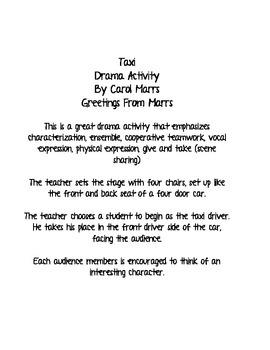 Drama Game - Taxi