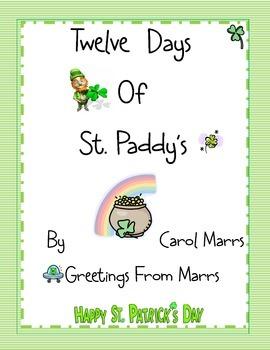 Drama Game - Twelve Days of St. Paddy's