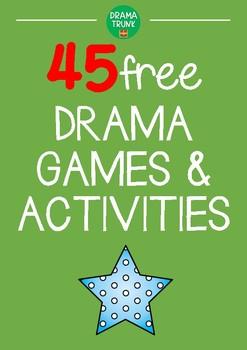 Drama Games & Activities for High School (volume 1)