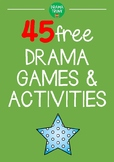 FREE Drama Games and Drama Activities for Middle School / High School