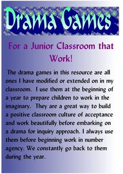 Drama Games For A Junior Classroom