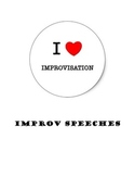 Drama Games:  Improvisation Speech Starters