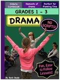 Drama - Grades 1 - 3 - TOP SELLER