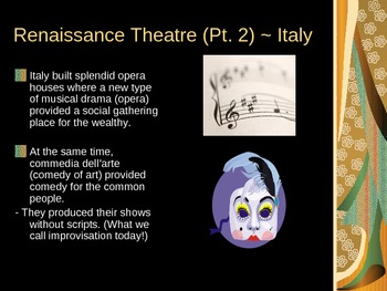 Drama History Power Point Lecture