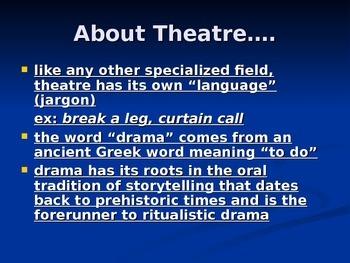 Drama, History of Drama,Origins of Drama (Greek, Roman, Renaissance)