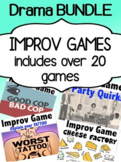 Drama Improv games for middle school and high school students (BUNDLE!)