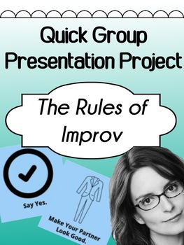 Drama - Improv - Rules / tips