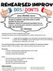 Drama - Improv Assignment - The DOs and DONTs
