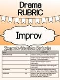 Drama - Improv rubric