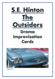 Drama Improvisation Cards: S. E. Hinton's 'The Outsiders'