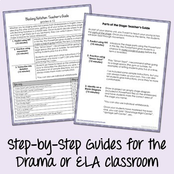 Drama: Intro to Drama - Activities and Quiz Bundle