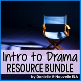 Drama: Intro to Drama - Activities and Quiz Bundle